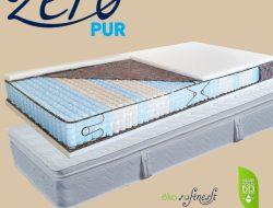 Billerbeck san remo táskarugós matrac, Öko softnesst párnázóval, Billerbeck táskarugós matrac 160x200 cm