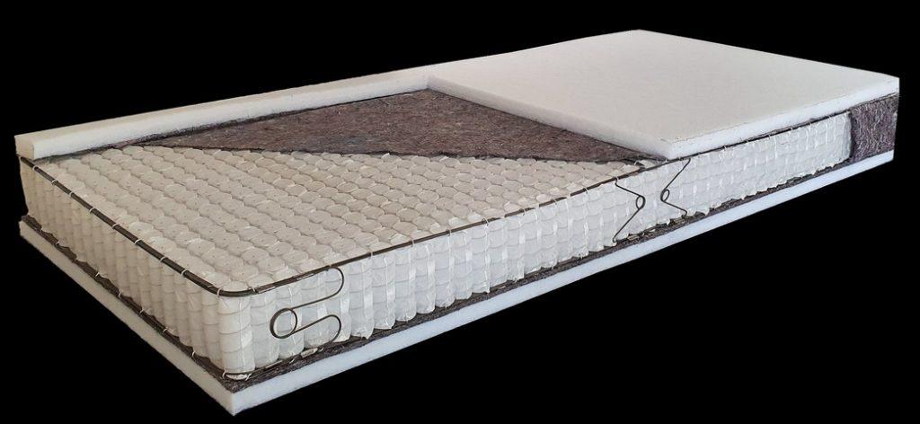 Heavy Load zóna nélküli táskarugós Billerbeck matrac