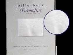 Billerbeck REGINA törtfehér pamut ágyneműhuzat garnitúra. 3 részes pamut ágynemű huzat. Pamut ágynemű kispárnahuzattal