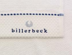 Billerbeck rizskötésű törölköző, pamut törölköző