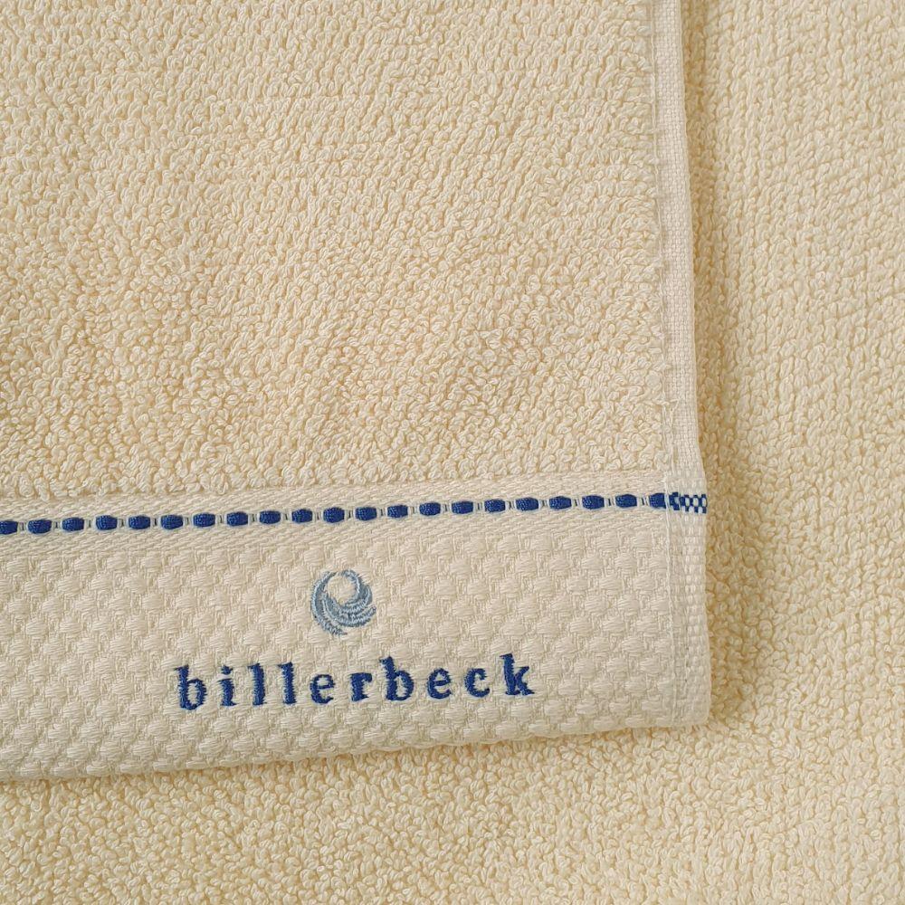 billerbeck vanília rizskötésű törölköző.